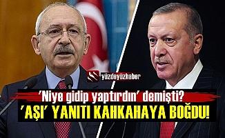 Kılıçdaroğlu'nun 'Aşı Yanıtı Kahkahaya Boğdu!