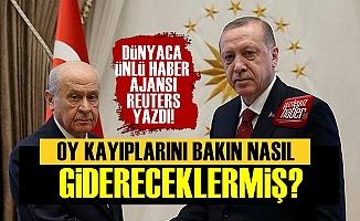Reuters Erdoğan-Bahçeli İkilisinin Planını Yazdı!