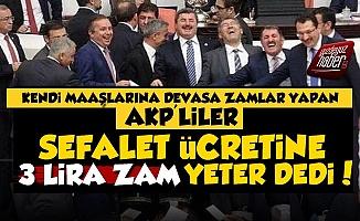 AKP'den Sefalet Ücretine 3 Liralık Artış!