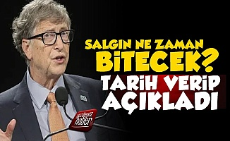 Bill Gates Salgının Bitişi İçin Tarih Verdi