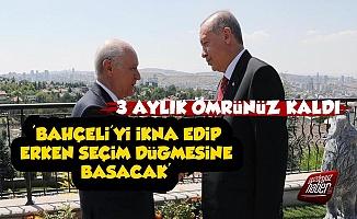 'Erdoğan Bahçeli'yi İkna Edip Erken Seçime Gidecek'
