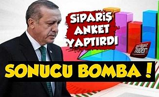 'Erdoğan Sipariş Anket Yaptırdı, Sonucu Bomba'