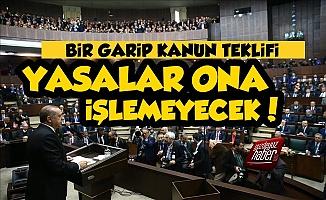 AKP'den Tuhaf Teklif, 'Yasalar Ona İşlemeyecek'
