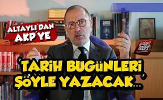 Fatih Altaylı'dan AKP'ye Elmalı Tepkisi