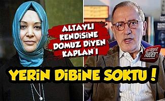 Fatih Altaylı'dan, Hilal Kaplan'a Olay Sözler