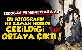 İşte Erdoğan'ın İle Hikmetyar'lı Fotoğrafın Öyküsü