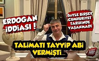 Sedat Peker'den Erdoğan İddiası