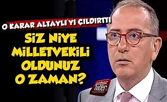 AKP-MHP İttifakının Kararı Altaylı'yı Çıldırttı
