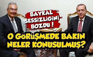 Baykal, Erdoğan İle Ne Konuştuklarını Anlattı
