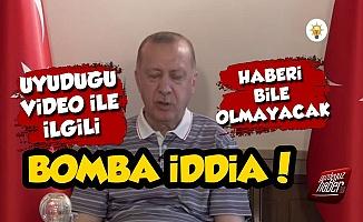 Erdoğan'ın Uyuduğu Video İle İlgili Bomba İddia