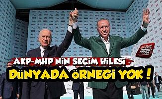 İşte AKP-MHP'nin Seçim Hilesi