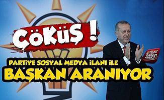 Sosyal Medyadan AKP'ye Başkan Aranıyor