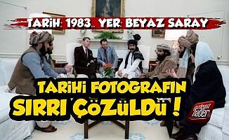 Beyaz Saray'daki Tarihi Fotoğrafın Sırrı Çözüldü