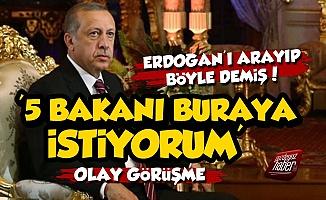 Erdoğan'la Orman Müdürü'nün Olay Görüşmesi
