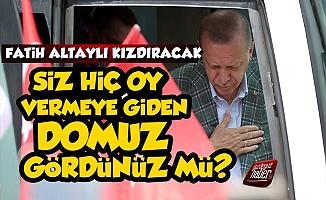 Fatih Altaylı'dan Erdoğan'ı Kızdıracak Yazı
