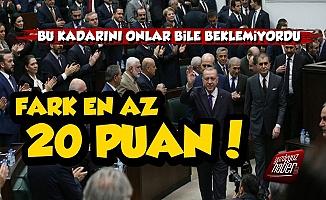 AKP'de Dev Çözülme! Fark En Az Yüzde 20
