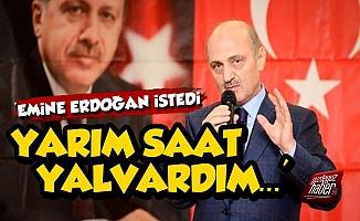 Erdoğan Bayraktar: Emine Erdoğan İstedi...