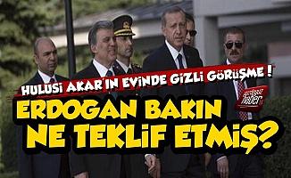 Erdoğan-Gül Gizlice Görüşme, İşte Bomba Teklif!