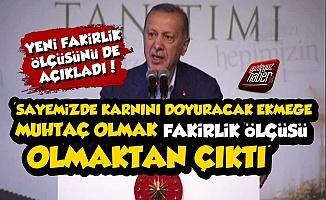 Erdoğan'ın 'Fakirlikle' İlgili Sözleri Olay Oldu