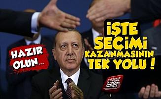 İşte Erdoğan'ın Seçimi Kazanmasının Tek Yolu