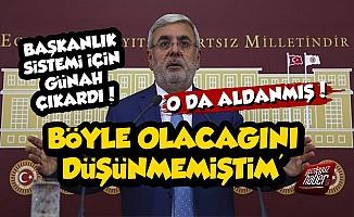 AKP'li Metiner de Başkanlık Sistemi İçin Günah Çıkardı!