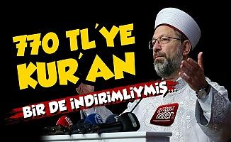 Diyanet'ten 770 TL'ye Kur'an Satışı!