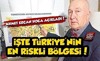 İşte Depremde Türkiye'nin En Riskli Bölgesi!