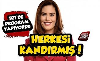 TRT'ci Gözde Şahenk Erdoğan Herkesi Kandırmış!