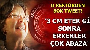'3 CM ETEK GİY SONRA ERKEKLER ÇOK ABAZA'