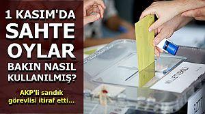 AKP'Lİ SANDIK GÖREVLİSİ İTİRAF ETTİ!