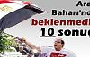 ARAP BAHARINDA BEKLENMEDIK 10 SONUÇ!