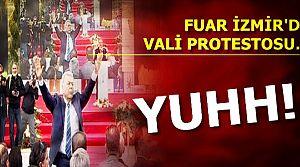 FUAR İZMİR'DE 'YUH' SESLERİ...