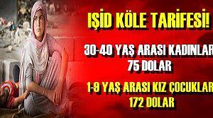 IŞİD'DEN KATLİAM VE TARİFE...
