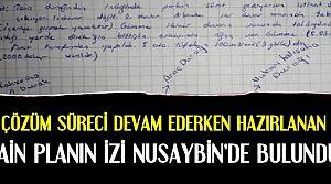 İZMİR'DEN NUSAYBİN'E...