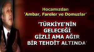 'PROBLEM TEMBELLİK DEĞİL, TALANDIR...'