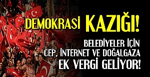 BUYRUN SİZE DEMOKRASİ KAZIĞI!