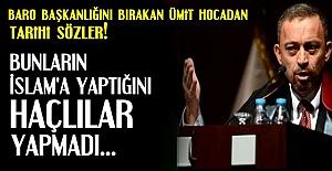 'HAÇLILARDAN BETERLER...'