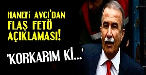 HANEFİ AVCI'DAN ADİL ÖKSÜZ AÇIKLAMASI...