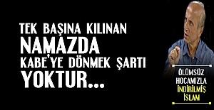 'YALNIZKEN KABE'YE DÖNMEK GEREKMİYOR'