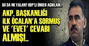 ŞOK! ÖNCE ÖCALAN'A SORMUŞLAR!..