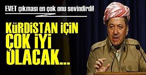 BARZANİ'DE 'EVET' MUTLULUĞU!..