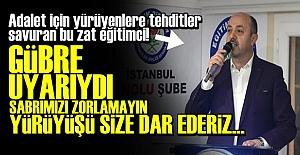 O SENDİKANIN BAŞKANI ALENEN TEHDİT ETTİ!