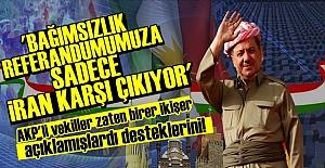 KDP: BİZE SADECE İRAN KARŞI ÇIKIYOR...