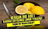HERGÜN 1 ADET KABUĞU SOYULMUŞ LİMON YERSENİZ...