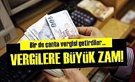 Vergilere Büyük Zam!