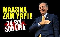 Maaşını 74 Bin 500 Lira Yaptı!