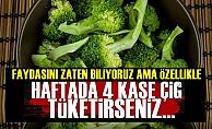 Haftada 4 Kase Çiğ Brokoli Tüketirseniz...