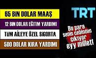 TRT Çalışanına İnanılmaz Maaş!