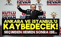 'AKP Ankara Ve İstanbul'u Kaybedecek'