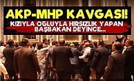 AKP-MHP Birbirine Girdi!